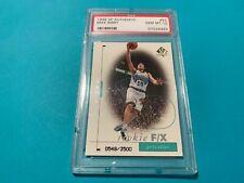 Mike Bibby Kings 1998 SP Authentic Rookie Card /3500 PSA 10 Gem Mint