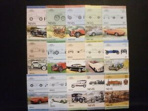 NEVIS good lot of stamps very fine MNH