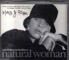 Mary J Blige-You Make Me Feel Like A Natural Woman cd maxi single