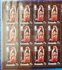 2005 ZYDRUNAS ILGAUSKAS Postage Stamps (12) Sheet CLEVELAND CAVALIERS NBA MINT!