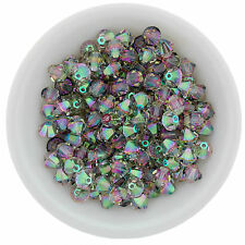 48 pc - PARADISE SHINE 4mm Swarovski Crystal Bicones #5328 XILION
