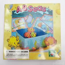 AB Sea's Alphabet Fishing VTG Letter Board Game Discovery Toys 1991