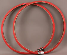 Pair Super HP 700x23 Red Road Fixed Gear Track Bike Tires MSRP $54 New Old Stock