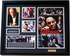 New The Sopranos Signed Limited Edition Memorabilia Framed