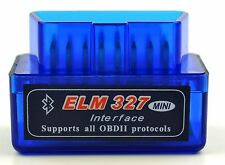 C Model Mini ELM327 V1.5 OBD2 II Bluetooth Diagnostic Car Auto Interface Scanner