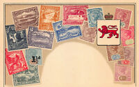 Tasmania, Stamps on Early Postcard, Unused, Published by Ottmar Zieher