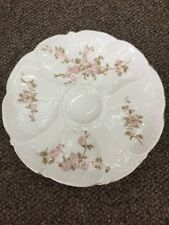 Beautiful ANTIQUE PORCELAIN OYSTER PLATE CARLSBAD CSM AUSTRIA 5 Well