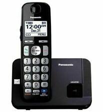 Panasonic Kx-Tge210B Dect 6.0 Cordless Phone with Large Keypad