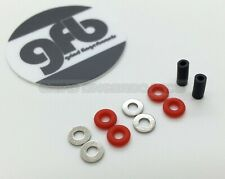 *GRiND FINGERBOARDS* GFB SMALL O-Ring Bushings Fingerboard Tuning Kit - RED