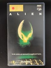 Alien Ex-Rental Vintage VHS Tape English with dutch subs