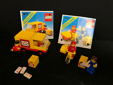 Lego 6651 6622 Classic Post Office Mailman on Motorcycle LegoPost Office Van