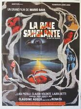 TWITCH OF THE DEATH NERVE 1971 Mario Bava FRENCH 47x63