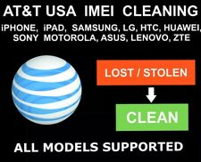 AT&T USA Unbarring, Cleaning Service, iPhone, Samsung, LG, Alcatel, Sony, ZTE