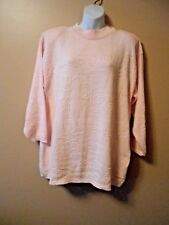 Vintage Colter Bay International S Women's Sweater Pink Cotton USA Made