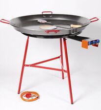 Garcima 700mm Paella Burner Bundle with 90cm Paella Pan, Stand, Regulator & Hose