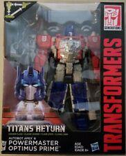 Transformers Generations Titans Return - AUTOBOT APEX/POWERMASTER OPTIMUS PRIME