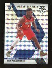 2019-20 Panini Mosaic NBA Debut Zion Williamson Pelicans RC Rookie