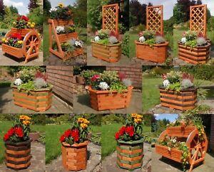 Blumenkübel Pflanzkübel Blumentreppe Blumenleiter Pflanztreppe Blumenkasten Holz