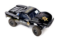 Custom Body Police Style for Traxxas 1/10 Slash 4x4 VXL Slayer Shell Cover 6811