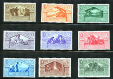 Italy #248-256, complete set.  MNH/MLH/MH - 2016 SCV $387