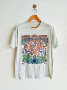 Dallas Cowboys T-Shirt Vintage Champs Caricature 90's NFL Football Salem Sport