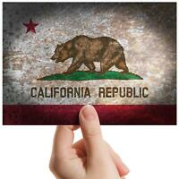 "Rustic California Republic - Small Photograph 6"" x 4"" Art Print Photo Gift #8486"