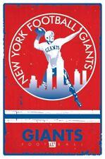 New York Giants Retro Vintage NFL New 22x34 Poster!