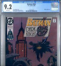 PRIMO:  BATMAN #452 RIDDLER Mignola cover art NM- 9.2 CGC 1990 DC comics