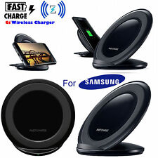 Qi Wireless Fast Charger Charging Pad Stand Dock for Samsung Galaxy Note 8 S8 S7