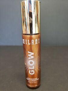 Milani Glow Luminizing Liquid Bronzer Glow #1 Face and Body 1.7 oz