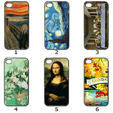 For Samsung or iPhone Hard CASE Phone COVER Famous Paintings Collection M18