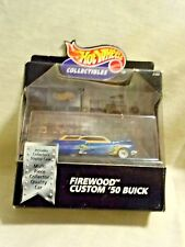 Hot Wheels Collectibles Firewood Custom ' 50 Buick New In Box<>D 4805