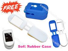 USA  Rubber Case Soft Rubber Cover For Pulse Oximeter SPO2 Monitor, Free Ship