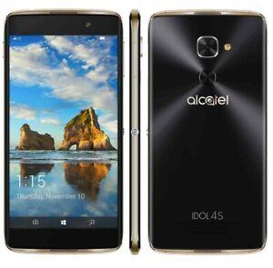 Alcatel IDOL 4S 6071W Windows 10 64GB 21MP Camera GSM Unlocked T-Mobile AT&T