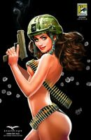 RARE: GRIMM FAIRY TALES ARMED FORCES - SDCC EXCLUSIVE - SEXY KATY PERRY - LE 100