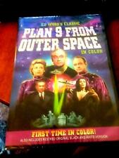 Plan 9 from Outer Space   DVD 2006  Colorized & restored B&W   brand new sealed
