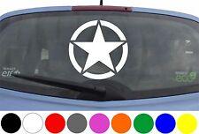 WD Autoaufkleber US ARMY STERN STAR Aufkleber Sticker Motorhaube Heckscheibe VW