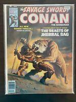 The Savage Sword of Conan 27 Higher Grade Marvel Comic CL77-12