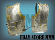 SCA combat cuirass decorated, Polish hussar, 17th century, 18GA medieval jacket