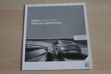 97269) Renault Laguna Coupe - Preise & tech. Daten & Ausstattungen - Prospekt 09