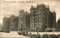 """Antique Postcard  SCARSDALE New York  """"THORNCROFT APARTMENTS""""  THORNYCROFT?"""