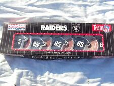 Oakland Raiders Strand of Lights New In Box!