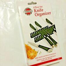 Norpro Knife Organizer 4 Piece Set  Black