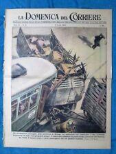 La Domenica del Corriere 10 aprile 1949 Milano - Madrid - Anna Neagle