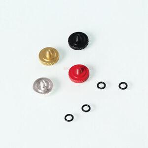 Brass Concave Shutter Release Button Rubber Ring for Fujifilm X100 Leica Nikon