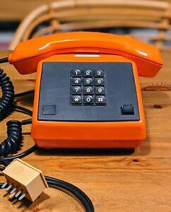 Tasten Telefon RFT alpha quick 590-252 Bj.02-90 orange GDR VEB DDR