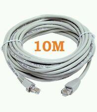 Fuerte 10M CAT5e RJ45 Red Ethernet LAN Cable de plomo de parches de Internet Hd/Cielo/Xbox