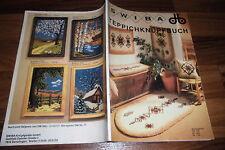 SWIBA TEPPICHKNÜPFBUCH -- Katalog mit 124 Seiten u. den ORIGINAL PREISEN / 1980
