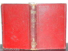WILLIAM SHAKESPEARE: Tempest TWO GENTLEMEN of VERONA Comedy Errors 1869 LEATHER