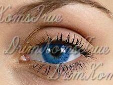 Lentille de couleur Caribbean Blue/ Bleu Brillant // 3 Tons // Valable 3 Mois //
